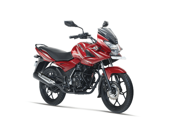 Bajaj Discover 150F Wine red