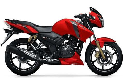 TVS Apache RTR 150 Red