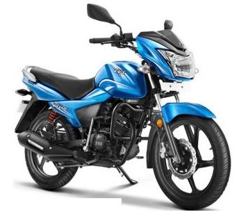 TVS Stryker 125 blue