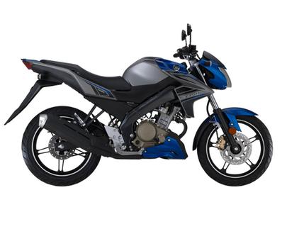 Yamaha FZ150i Blue and Ash