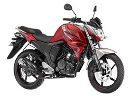 Yamaha FZs V2 Knight red