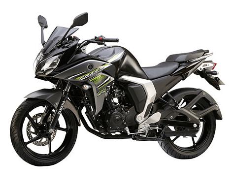 Yamaha Fazer V2 Fi ravine black