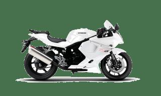 Race Hyosung GTR 125 White