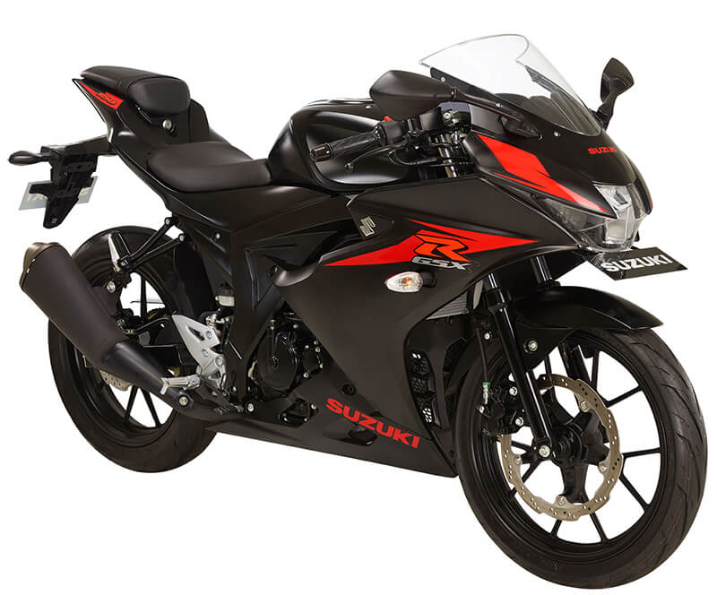 Suzuki GSX-R150 matte Black