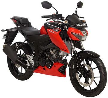 Suzuki GSX-S150 Stronger Red