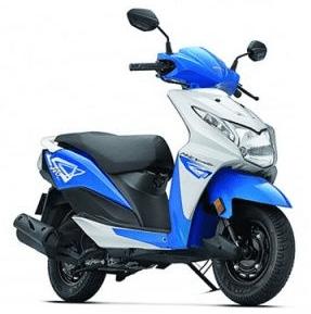 Honda Dio Blue