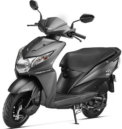 Honda Dio Grey