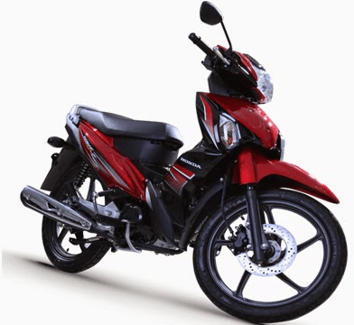 Honda Wave Alpha Red