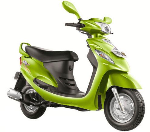 Mahindra Rodeo RZ Green