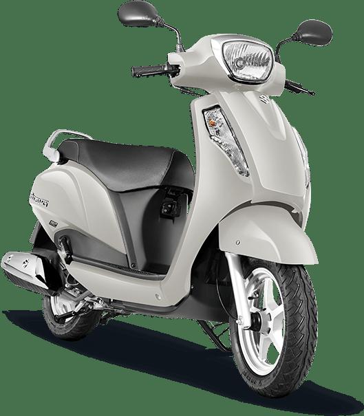 Suzuki Access 125 White