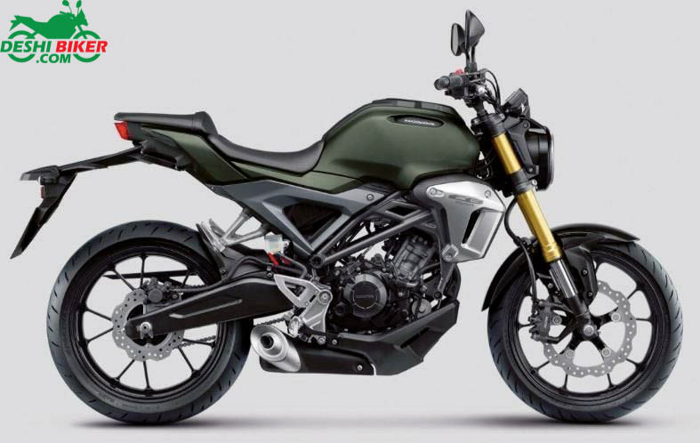 Honda CB150R ExMotion Green