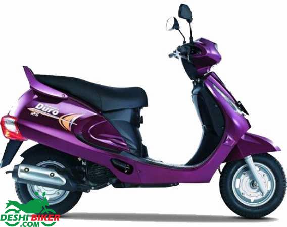 Mahindra Duro DZ Purple