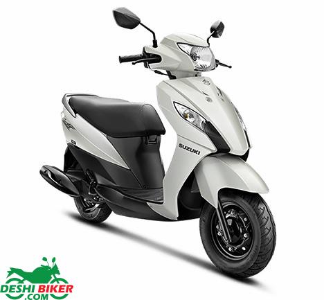 Suzuki Lets White
