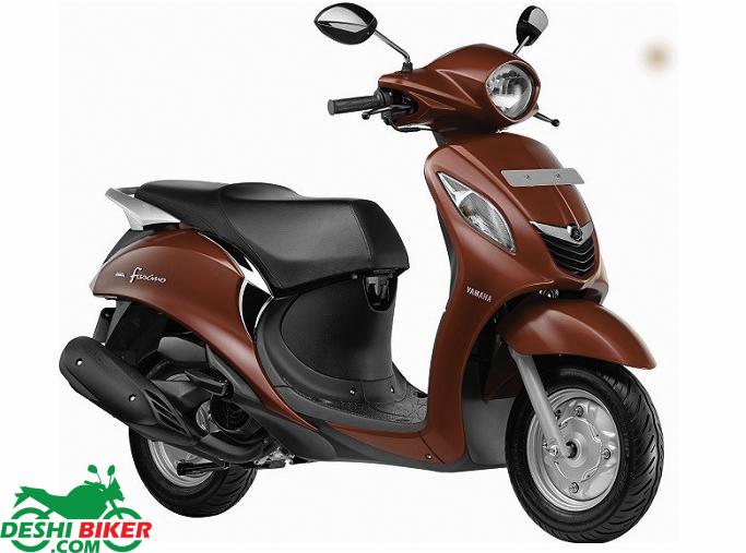 Yamaha Fascino Red