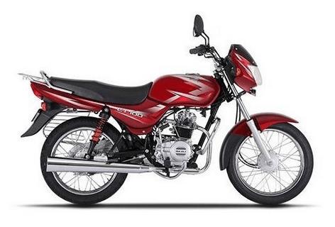 Bajaj CT 100 Red
