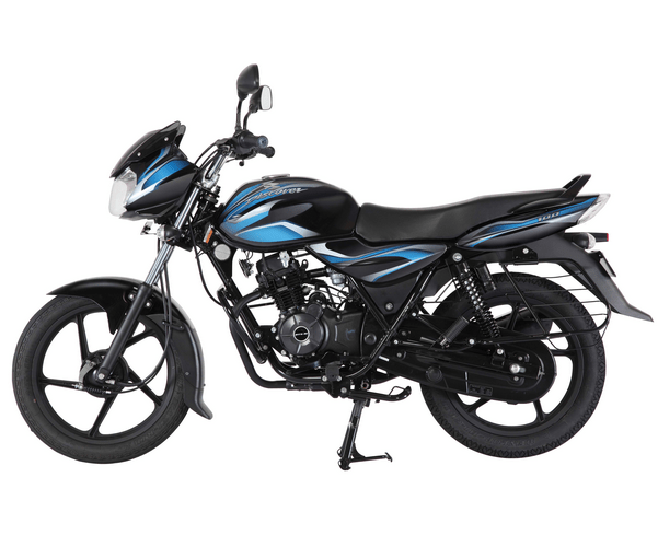 Bajaj Discover 100 Black Blue
