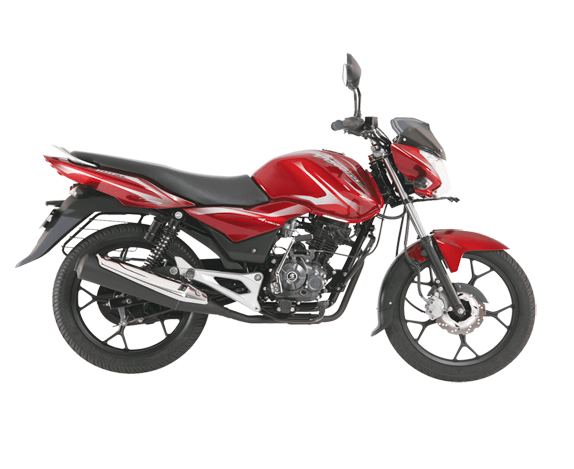 Bajaj Discover 100 Flame Red