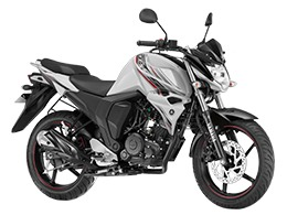 Yamaha FZs V2 Fi opal white color