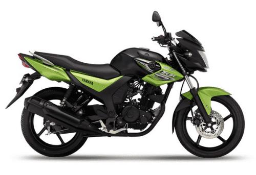 Yamaha SZ-RR V2 Green Arrow