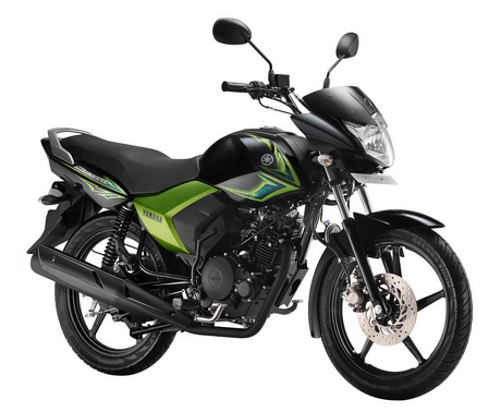 yamaha saluto 125 Glory green
