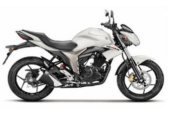 Suzuki Gixxer White