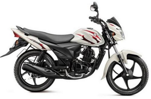 Suzuki Hayate Pearl Mirage White
