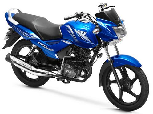 TVS Metro Plus Blue