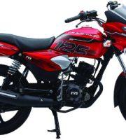TVS Phoenix 125 Moroccan Red