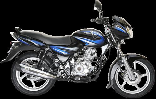 Bajaj Discover 125 Black and Blue