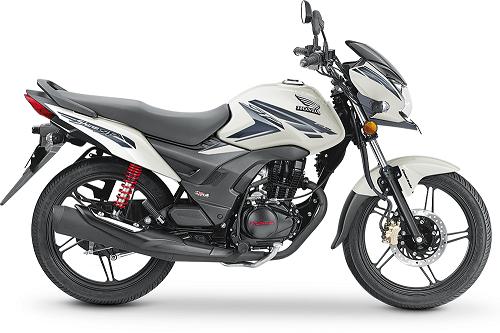 Honda CB Shine White