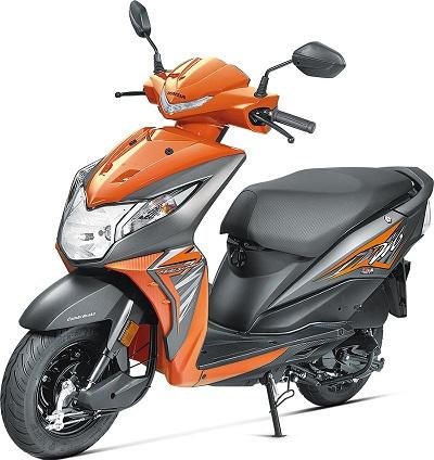 Honda Dio Orange