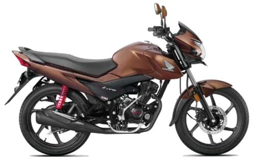 Honda Livo 110 BS4 Brown