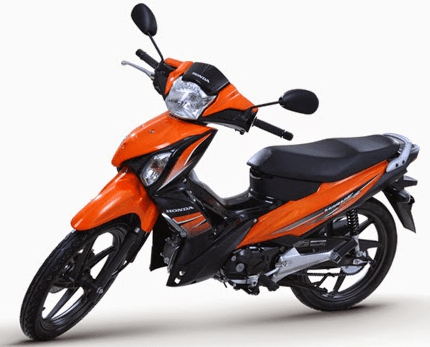 Honda Wave Alpha Orange