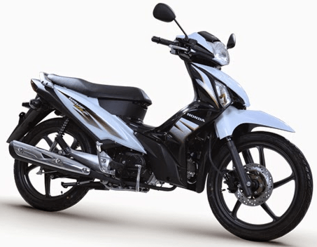 Honda Wave Alpha White