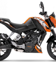 KTM Duke 125 Orange