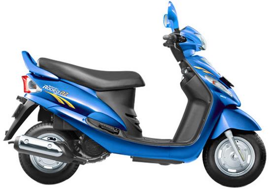 Mahindra Rodeo RZ Blue