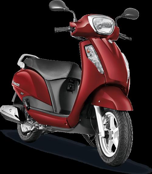 Suzuki Access 125 Red