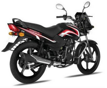 TVS Metro Black and Red