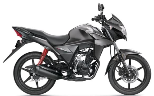 Honda CB Twister Heavy Grey Metallic