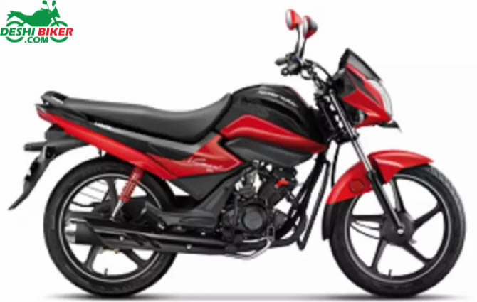 Hero Splendor iSmart 110 Red and Black