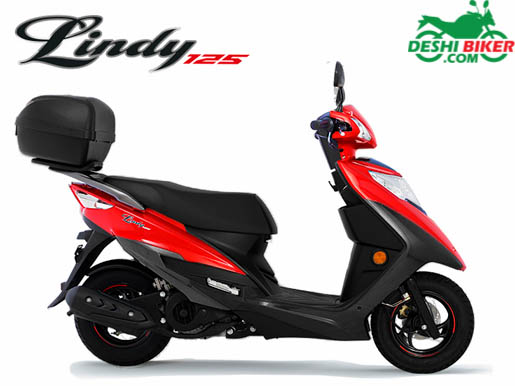 Haojue Lindy 125 Red