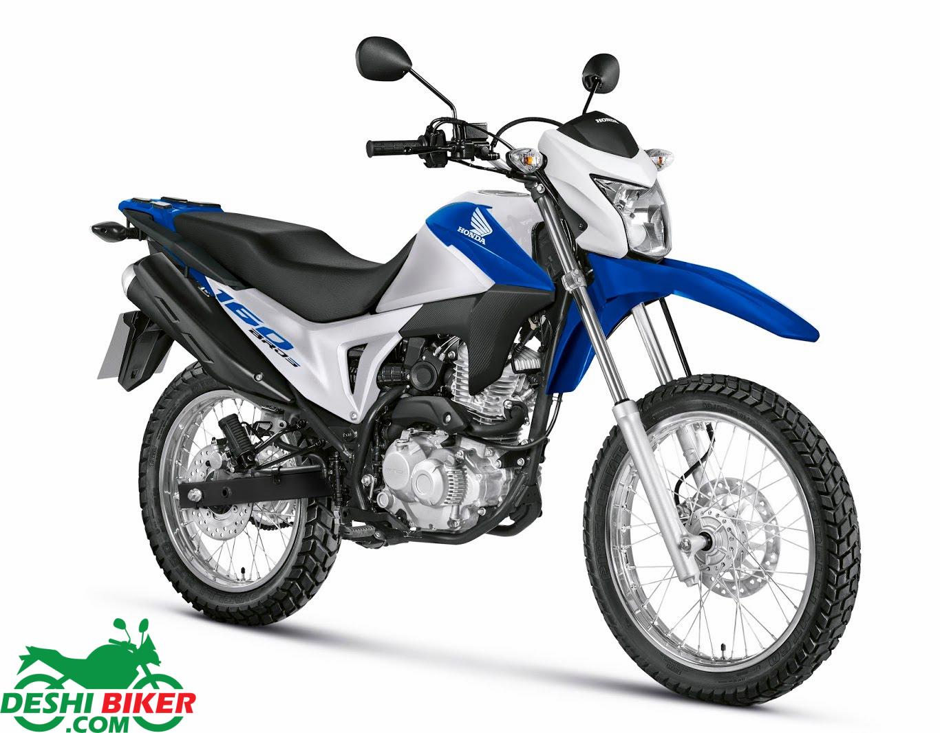 Honda NXR 160 Bros White & Blue