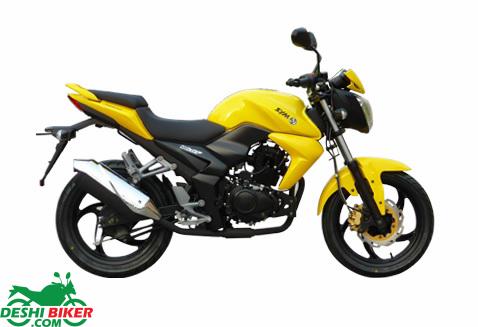 SYM Wolf T1 150 Yellow