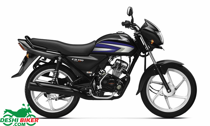 Honda CD110 Dream DX Black & Blue