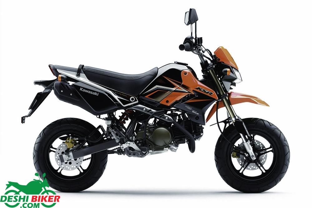 Kawasaki KSR Pro Red