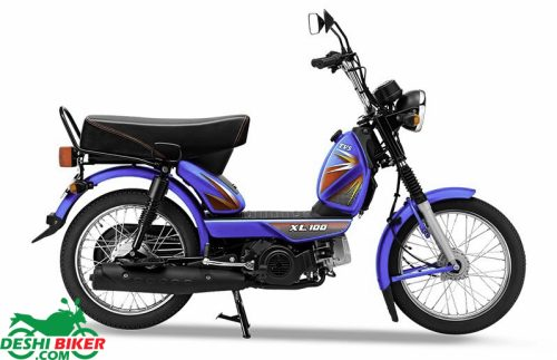 TVS XL 100 Comfort Blue