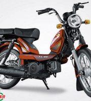 TVS XL 100 Comfort Red