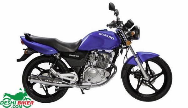 Suzuki EN 125 Blue