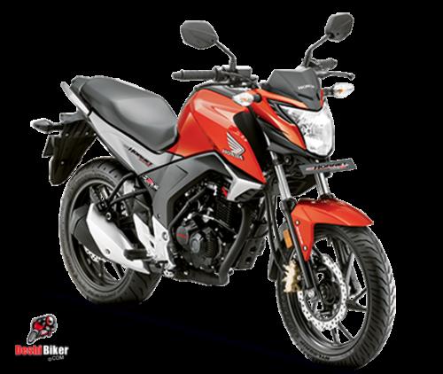 Honda CB Hornet 160R Red