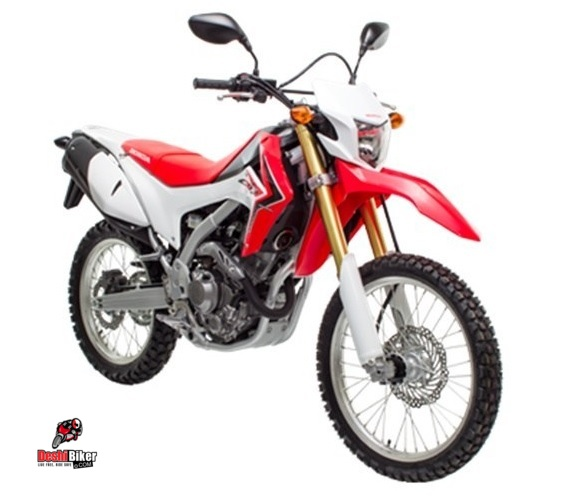Honda CRF150L Red